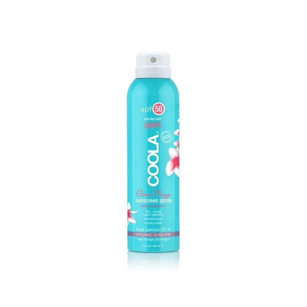 Coola Body Spray SPF 50 - Guava Mango