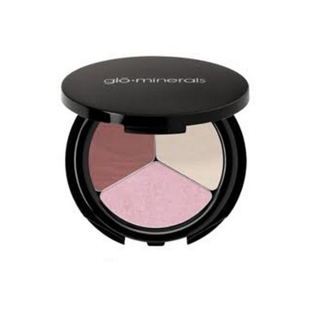 Glo Eyeshadow Trio - Champagne Rose