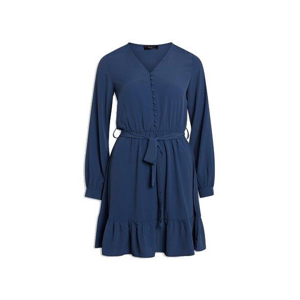 SisterS Point Gliss Dress - Dusty Blue