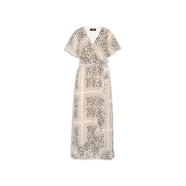 SisterS Point Gush Dress - Cream/Leo