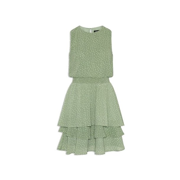 SisterS Point Nicoline Dress - Green/Cream